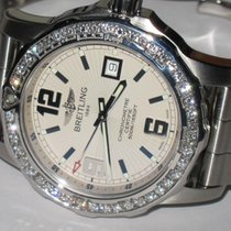 Breitling Colt 44 Steel 44mm Silver Arabic numerals United States of America, New York, NEW YORK CITY