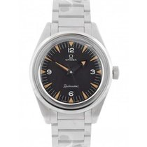 Omega Seamaster Railmaster Steel 38mm Black