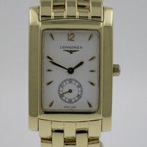 Longines Yellow gold Quartz White 39,5mm pre-owned DolceVita