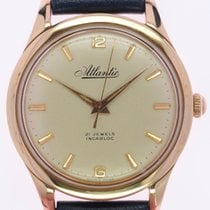 Atlantic Rose gold 35.6mm pre-owned