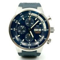 IWC Aquatimer Chronograph Stal 44mm Niebieski Arabskie Polska, Rybnik