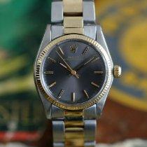 de582d76ead Rolex 6751 Goud/Staal 1976 Oyster Perpetual 31 31mm tweedehands
