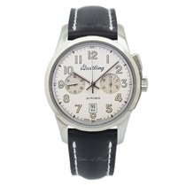 Breitling Transocean Chronograph 1915 Steel 43mm Champagne