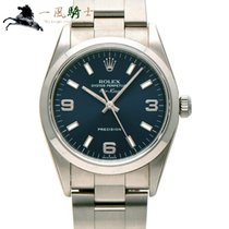 Rolex Air King Precision Сталь 34mm Синий