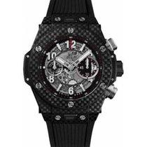 Hublot Carbon Automatic Black Arabic numerals 45mm new Big Bang Unico