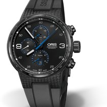 Oris Carbon Automatic Black Arabic numerals 44mmmm pre-owned Williams F1
