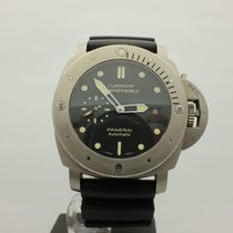 沛納海 Luminor Submersible 1950 3 Days Automatic 鈦 47mm 黑色