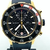 IWC Rose gold Automatic pre-owned Aquatimer Chronograph