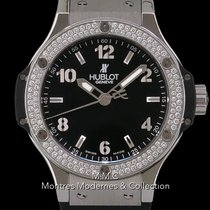 Hublot Big Bang 38 mm Acier 38mm Noir France, Paris