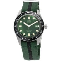 Oris Divers Sixty Five Steel 42mm Green United States of America, New York, Brooklyn
