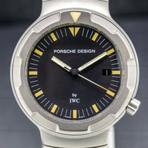 IWC Porsche Design Titan 40mm Negru