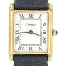 Cartier Tank Louis Cartier pre-owned 22mm White Leather