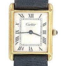 Cartier Tank Louis Cartier Yellow gold 22mm White