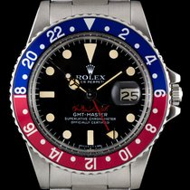 Rolex Vintage UAE Air Force Pepsi Bezel GMT-Master B&P 1675