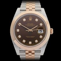 Rolex Datejust II Stainless Steel & 18k Rose Gold Gents...