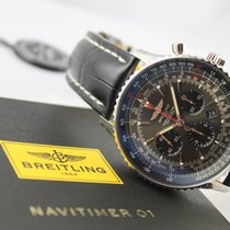 """Breitling Navitimer 01 """"Stratos Gray"""" Limited Edition"""