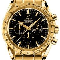 Omega Speedmaster Broad Arrow Gold on Bracelet