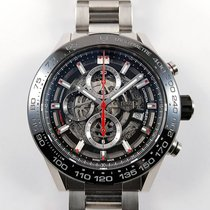 TAG Heuer Carrera 45mm Calibre HEUER 01 Skeleton like new,