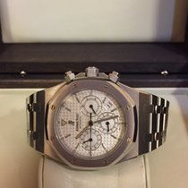 Audemars Piguet ROYAL OAK CHRONO STEEL WHITE DIAL 39mm 25860ST