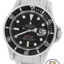 Rolex Vintage 1969 RED Rolex Submariner Date 1680 Matte Mark.