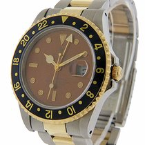 Rolex GMT-Master II Acier 40mm Brun