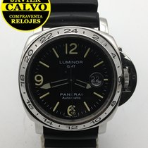 Panerai Luminor GMT Automatic usados 44mm Acero