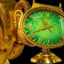 Patek Philippe 1965 Jade Swan Solar Clock Largest Solar Clock...