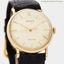 Rolex Oyster Precision Yellow gold 34mm Silver No numerals United States of America, California, Beverly Hills