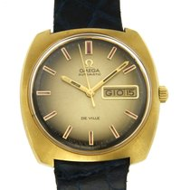 Omega De Ville 166053 Good Yellow gold 37mm Automatic