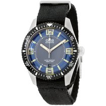 Oris Divers Sixty Five new Automatic Watch with original box 73377074065NADOBLK