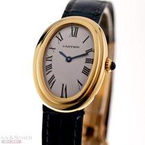 Cartier Baignoire gebraucht 32mm Gelbgold