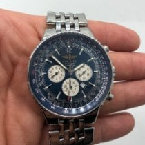 Breitling A35350 Steel 2004 Navitimer Heritage 43mm pre-owned