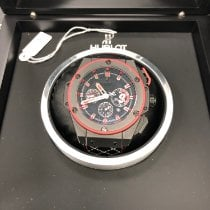 Hublot King Power Keramiek 48mm Zwart Geen cijfers Nederland, Deventer