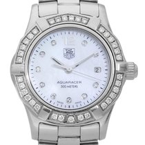TAG Heuer Women's watch Aquaracer Lady 27mm Quartz pre-owned Watch with original box and original papers 2008