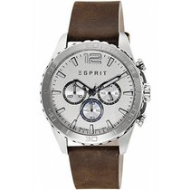 Esprit Steel 44mm Quartz ES108351004 new