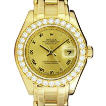 Rolex Lady-Datejust Pearlmaster 29mm Blanco