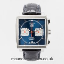 TAG Heuer Monaco Calibre 12 Steel 39mm Blue No numerals United Kingdom, Guildford,Surrey