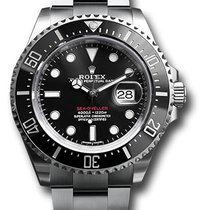 Rolex Sea-Dweller Steel 43mm Red No numerals United States of America, New York, New York