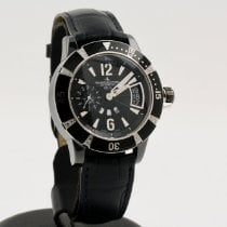 Jaeger-LeCoultre Master Compressor Diving GMT Acero 39mm Negro Árabes