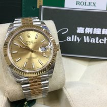 Rolex Cally - 2017 New Model DATEJUST II126333 Champagne Stick