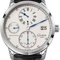 Glashütte Original Senator Chronometer Regulator White gold 42mm Silver United States of America, New York, Airmont