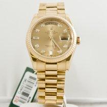 Rolex 118238 Oro amarillo 2006 Day-Date 36 36mm usados