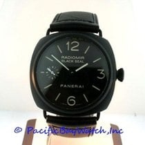 Panerai Radiomir Black Seal new Manual winding Watch with original box and original papers PAM00292
