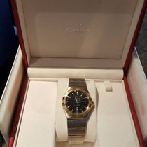 Omega Constellation Ladies Gold/Steel 36mm Black Roman numerals