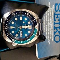 Seiko Prospex New Turtle Blu Lagoon