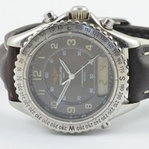 Breitling Intruder Reveil Herren Uhr Stahl 42mm A51035 Rar +...