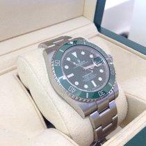 Rolex Submariner Date Green Hulk 2016 as new