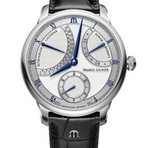 Maurice Lacroix Masterpiece MP6568-SS001-132-1 Maurice Lacroix MASTERPIECE Argento Nero 2020 new