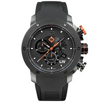 Liv Watches LIV GX1 Swiss Chronograph Black & Gray Numbers...