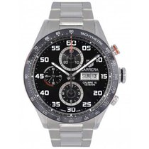 TAG Heuer Carrera Calibre 16 Steel 43mm Black United Kingdom, Blackburn